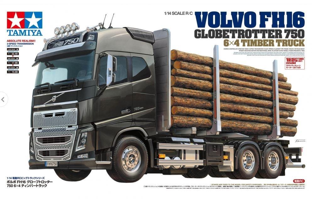 tamiya volvo fh16 timber truck 56360 onlineshop. Black Bedroom Furniture Sets. Home Design Ideas
