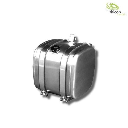 1:14 Kraftstoff/Hydrauliktank 52,5mm mit Tankhalter aus Alu