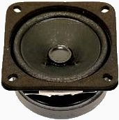 Lautsprecher LS-8R-15W-67, 8 Ohm, 15 Watt, 67x67mm