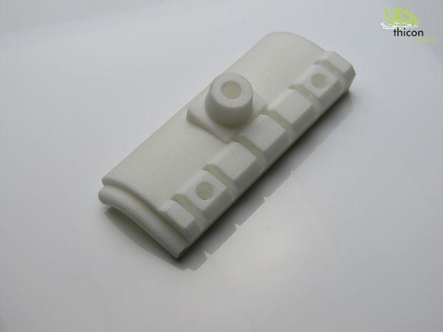 Steinschlagschutz-Halter für Warnleuchte hinten