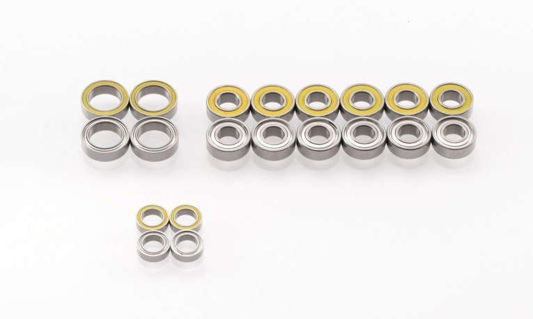 Revolution Design Ultra Bearing Set Tamiya TT01/TT01-E/TT02