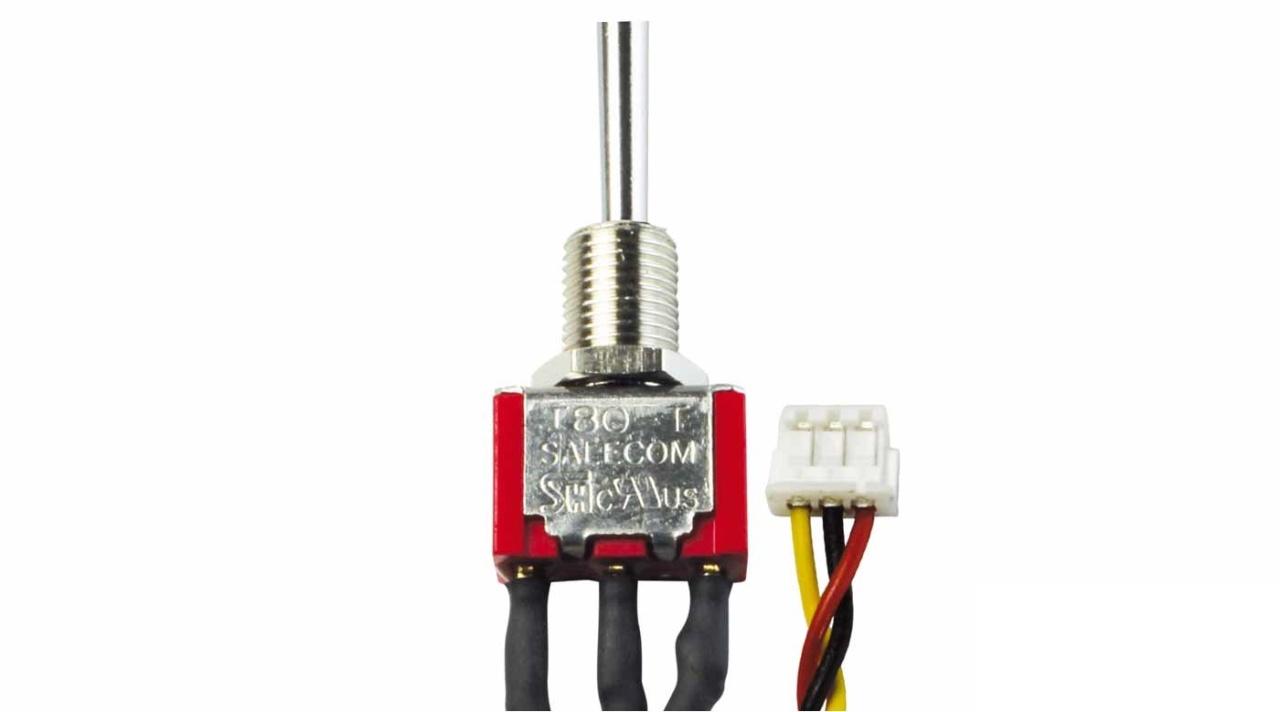 2-Stufen-Schalter E/A kurz (UNI) 75742