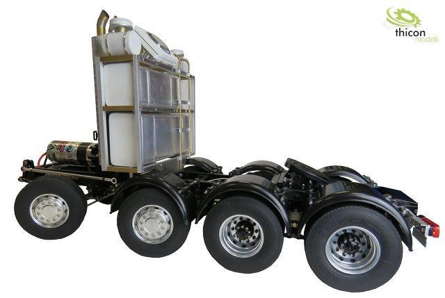 1:14 8x4 thicon-Schwerlast-Chassis Bausatz V2
