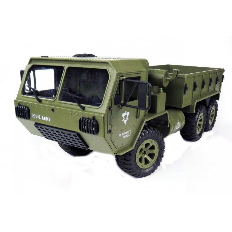 U.S. Military Truck 1:12 6WD 2.4 GHz RTR