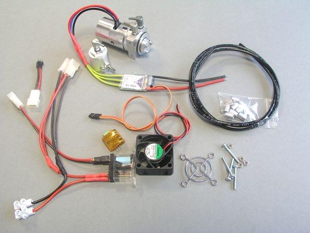 Hydraulik Tuning-Kit für Wedico-Bagger CAT 345