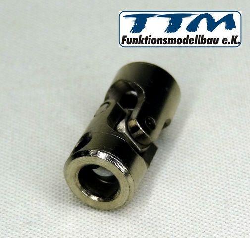 Kardangelenk Stahl 6/6mm 23mm lang