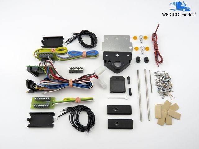 Elektrische Anlage 12V 6pol. für WEDICO-LKW