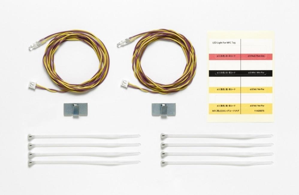 Tamiya t300056522 56522 klar 1 MFC-01//02 5mm LED orange