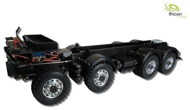 1:14 8x8 Gliederzug-Fahrgestell für Tamiya-Cab ohne Aufbau