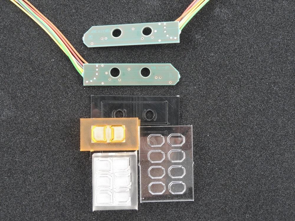 LH6 MB Rücklicht MB Actros Rücklichtplatine für 7,2V bis 12V