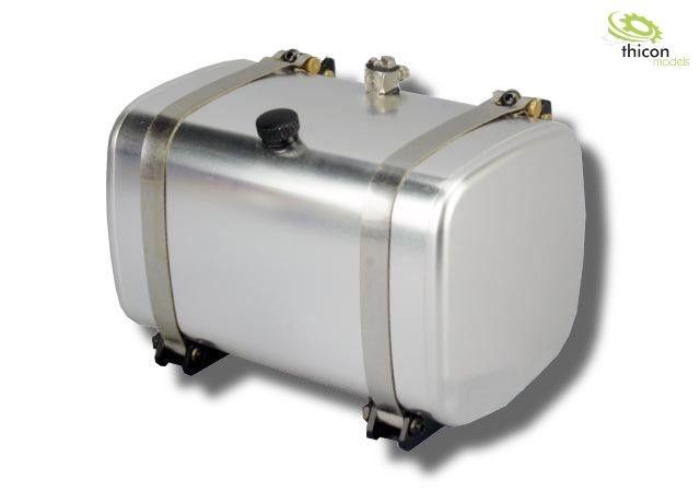 1 14 kraftstoff hydrauliktank 85mm mit tankhalter alu. Black Bedroom Furniture Sets. Home Design Ideas