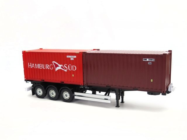 20ft iso container hamburg s d aus metall f r tamiya bausatz onlineshop. Black Bedroom Furniture Sets. Home Design Ideas