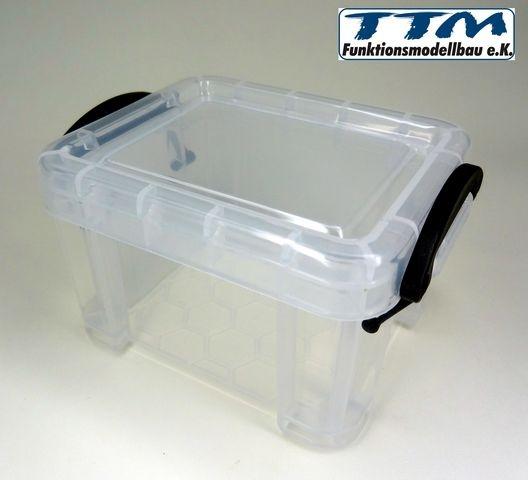 lagerbox transparent 1 10 mit deckel onlineshop. Black Bedroom Furniture Sets. Home Design Ideas