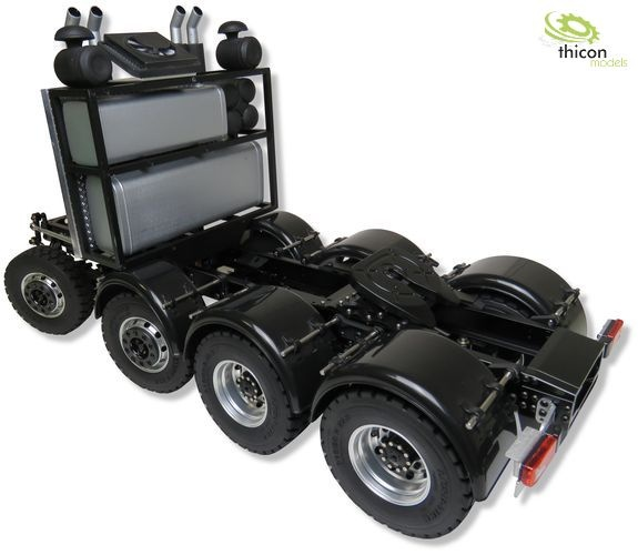 thicon 8x4 heavy duty chassis 1:14 assembly kit