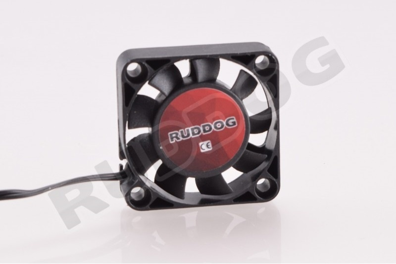 RUDDOG Fan 40mm with 240mm black wire, RP-0094
