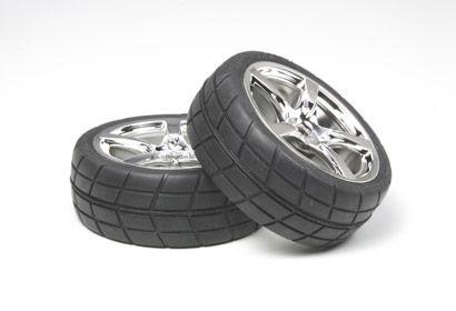 Felge + Reifen (5 Speichen)