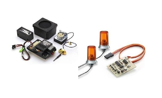 Beleuchtung/Elektronic/Sound