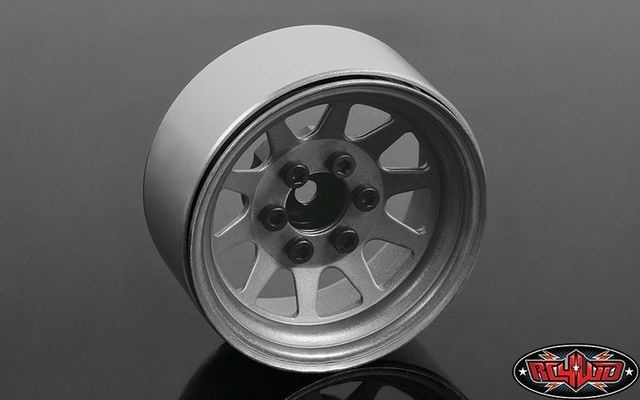 OEM Stamped Steel 1.9 Beadlock Wheels (Plain) RC4WD