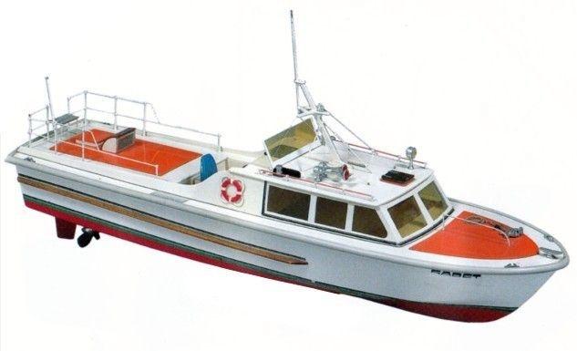 Krick Kadett Motorboot RC-Baukasten