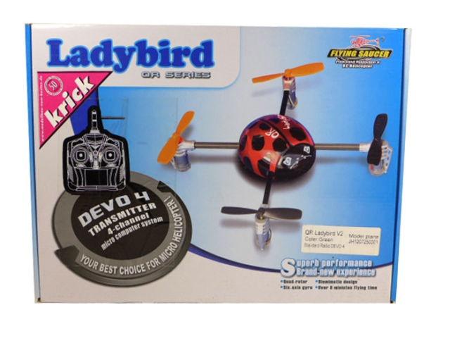 Ladybird Quadrokopter V2 RTF, Krick 18670
