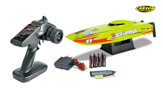 RC-Boot Micro Sea Warrior 100%RTR