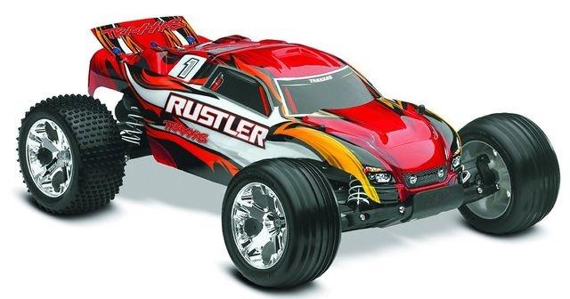 TRAXXAS Rustler RTR +12V-Lader