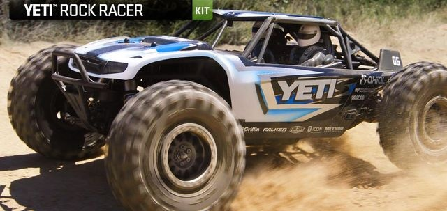 Axial Yeti 1/10 Electric 4WD Kit