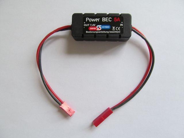 Power BEC 5A 6V