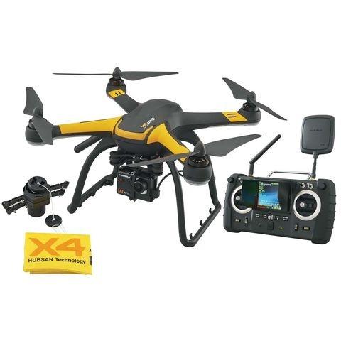 X4 PRO FPV RTF 1080P 1 Axis Gimble & Fallschirm Quadcopter