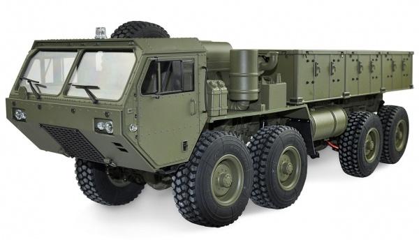 1:12 8x8- Militär- Truck olive grün+Pritsche