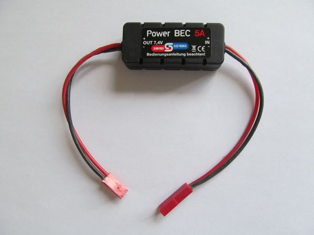 Power BEC 5A 4,8V
