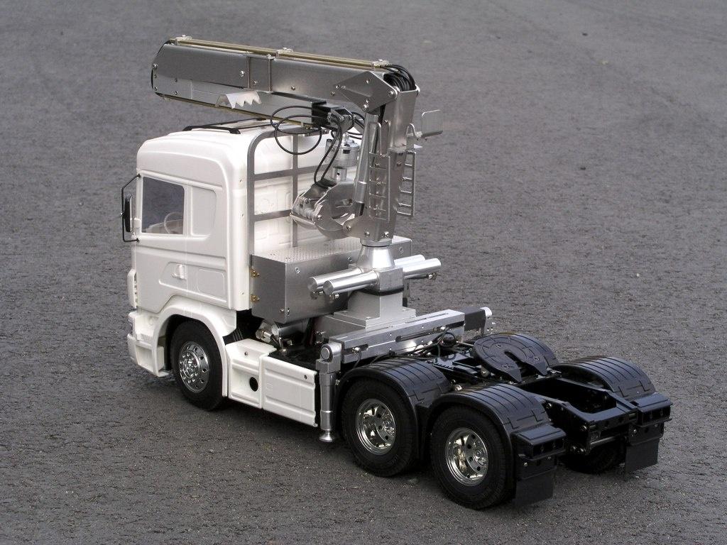 Bausatz Langholzladekran für TAMIYA-Trucks