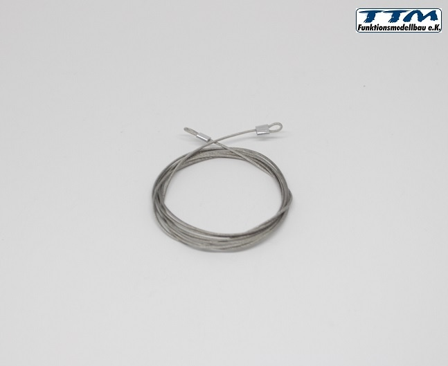 Stahlseil mit Öse Länge ca. 1M Ø 1mm