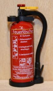 TMV Schaum Feuerlöscher 1:14 Ovaler Griff Fertig D