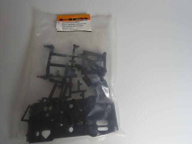 HPI 85060 Skid Plate/Body Mount Set