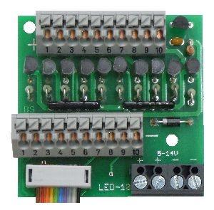 Anschlussklemme mit Konstantstromausgängen AKL-10-K
