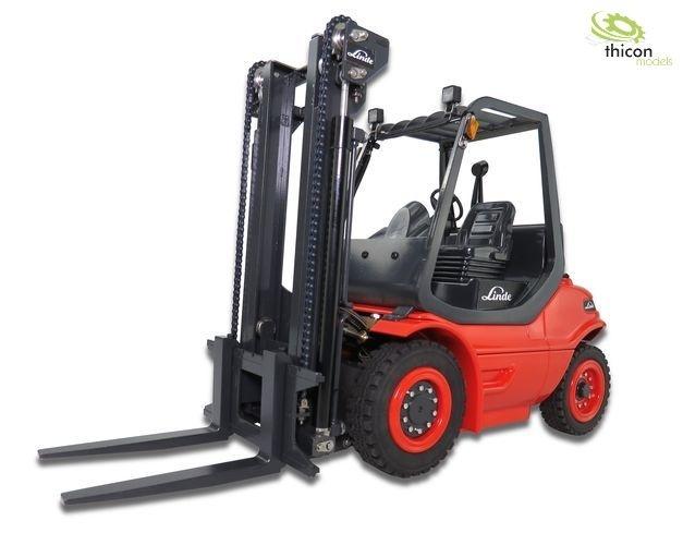 1:14 Gabelstapler  H40D Bausatz, Metall mit Hydraulik