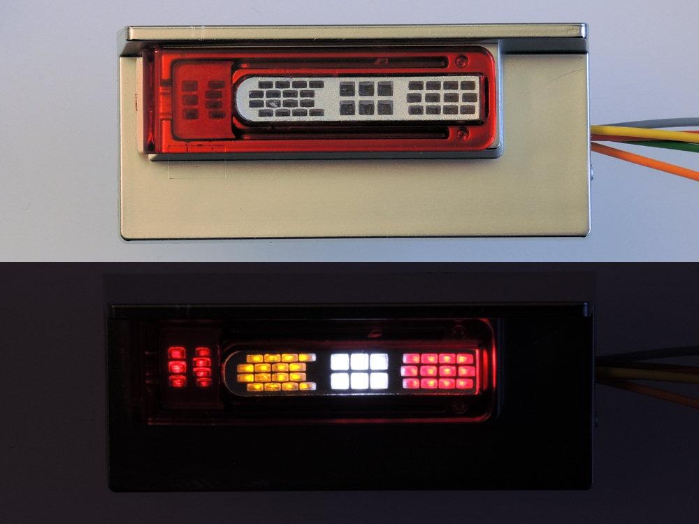 LED-Rüchklichtplatinen LH6FH16 für Tamiya Volvo FH16