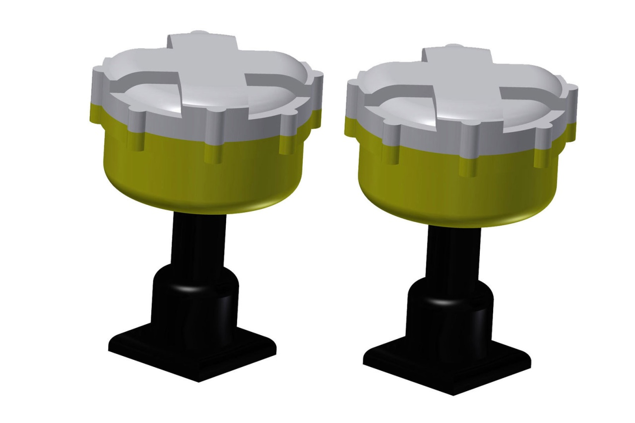 GPS-Antennenpaar für Baumaschinen Bausatz
