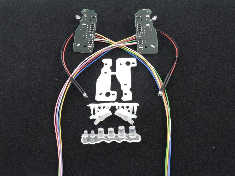 MB Actros Scheinwerferplatine für 7,2V bis 12V