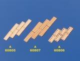 Kupferplatten 6x17mm 1:72 (10