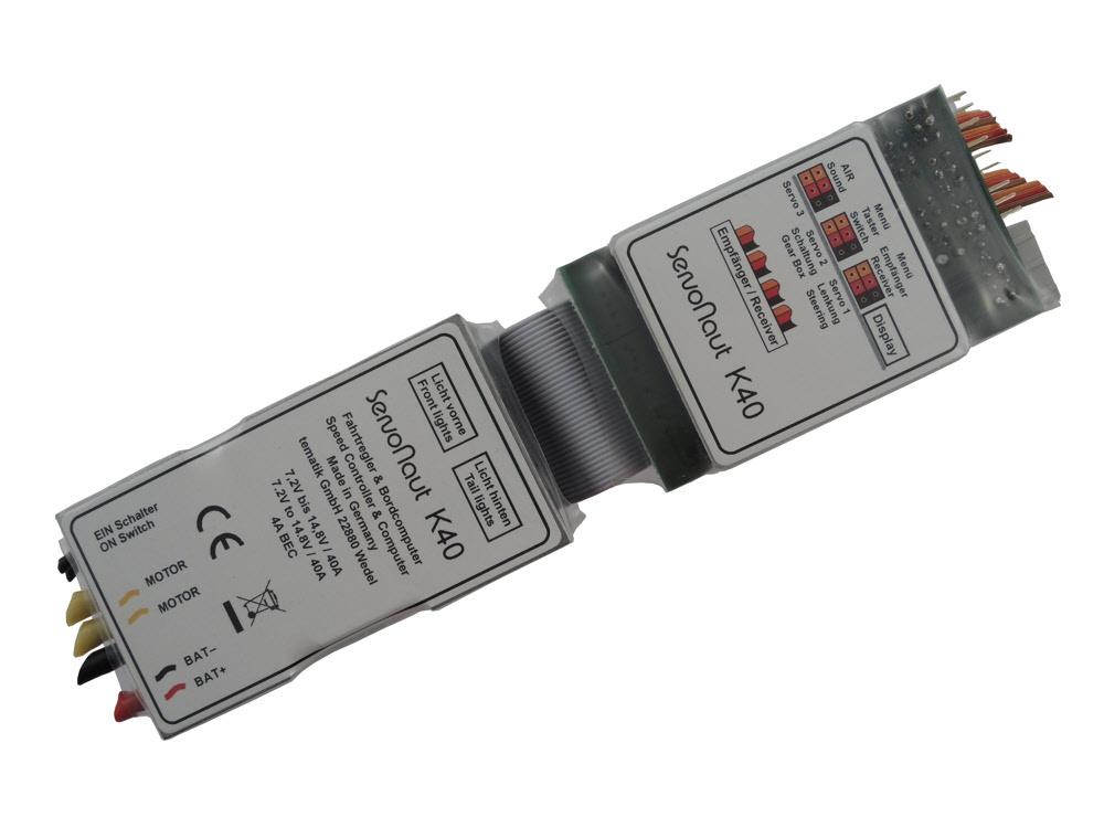 Servonaut K40 Fahrtregler mit Tempomat, Lichtanlage