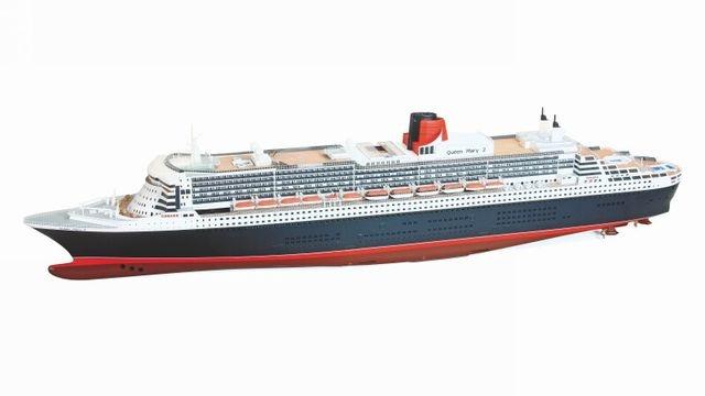 WP Passagierschiff Queen Mary