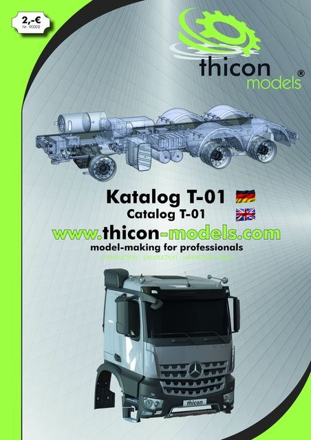 thicon-Katalog T-01 Deutsch/English A4