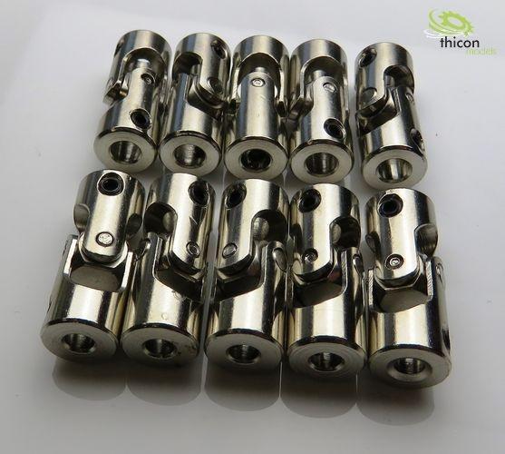 Kardangelenk Stahl 3,17/4mm 23mm lang 10Stück