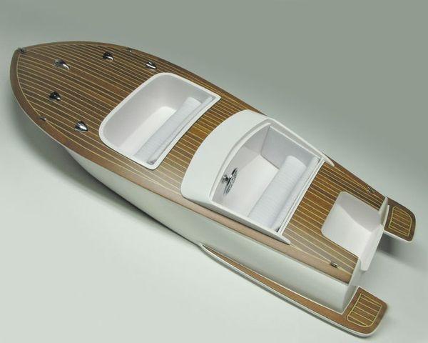 Bellezza Sportboot GFK Rumpf + Zubehör