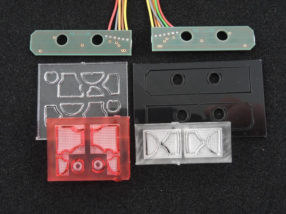 LH6 TGX Rücklicht MAN TGX Rücklichtplatine für 7,2V bis 12V