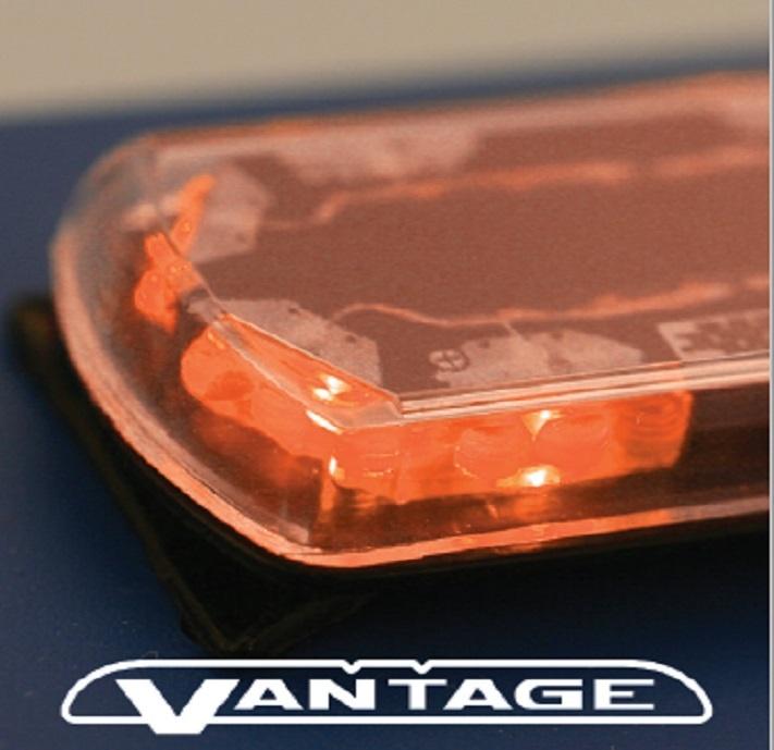 Lichtbalken flach Orange LED