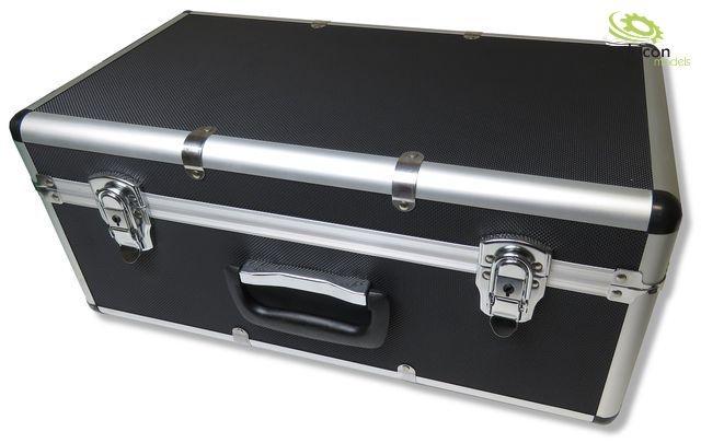 VALIGETTA di trasporto con telaio in tuttiuminio e  ABS-CORPO NERO thicon-thi40002  l'ultimo