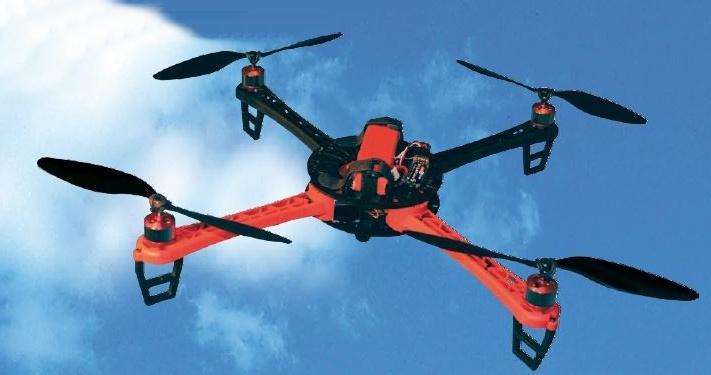 SkyDancer PRO, Quadrokopter für Kunstflug